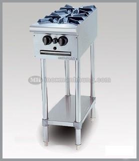 Bếp âu 2 họng, không lò nướng, có kệ phẳng dưới