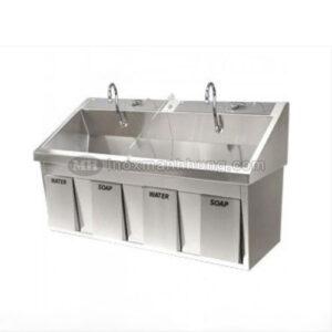 Bồn rửa tay vô trùng 2 vòi nước