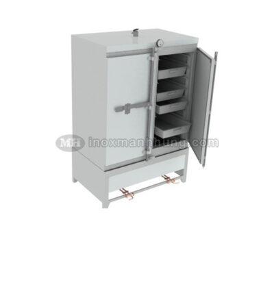 Tủ hấp cơm công nghiệp 100kg dùng điện & gas