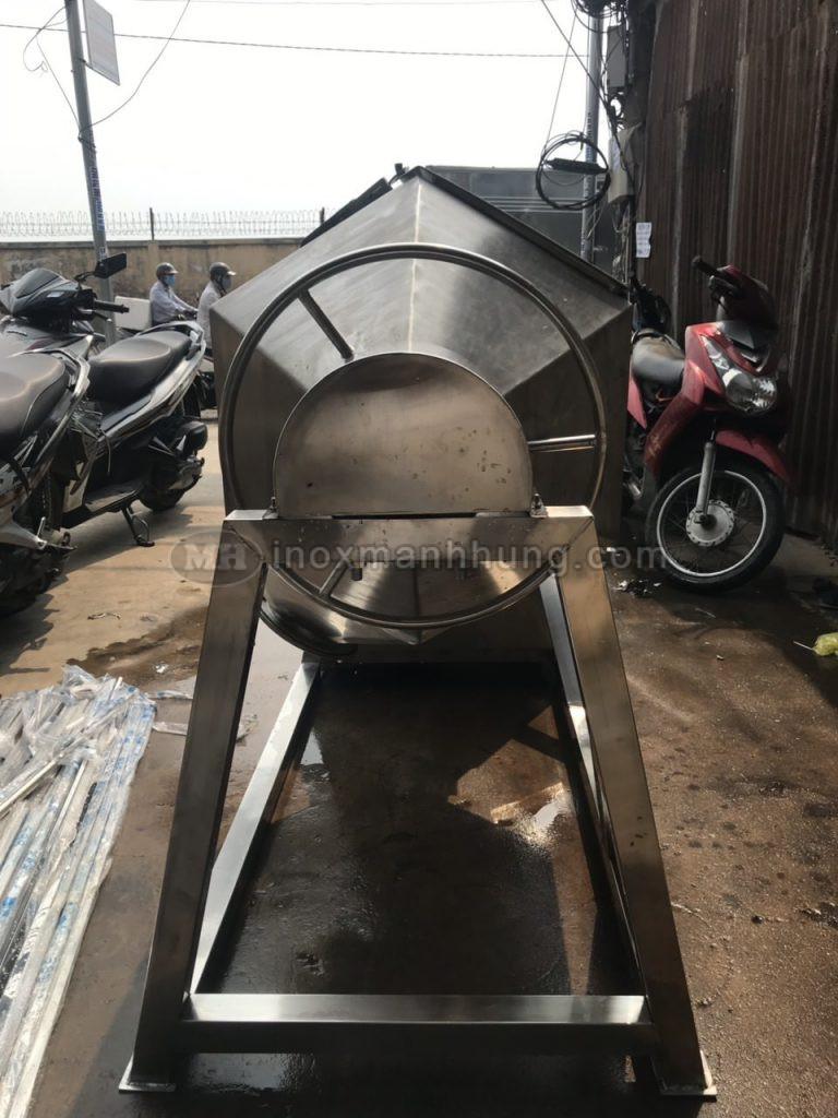 đầu hồi máy trộn bột khô