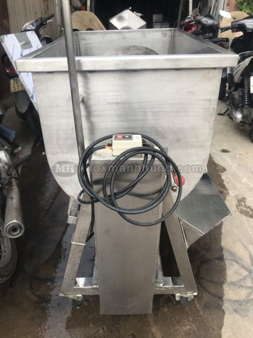 máy trộn bột nằm ngang 60kg