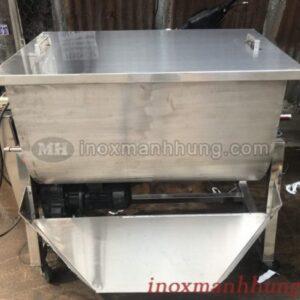 Máy trộn bột nằm ngang 60kg, máy trộn công nghiệp