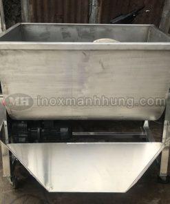 máy trộn bột công nghiệp nằm ngang 60kg
