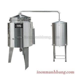 Nồi nấu rượu bằng điện 30kg