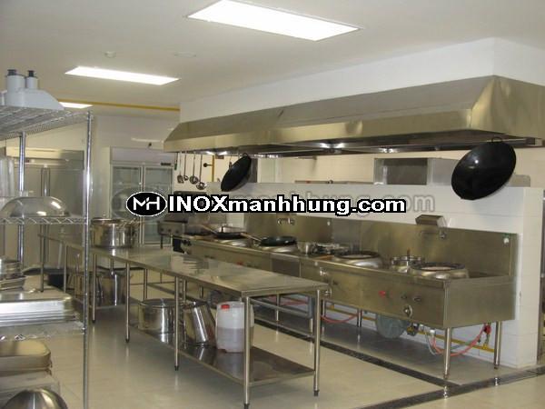 An toàn vệ sinh thực phẩm bếp công nghiệp, bếp tập thể, trường học