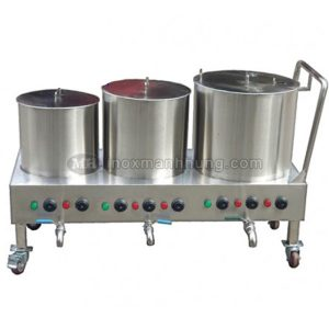 Bộ nồi nấu phở 20-80-120L điện