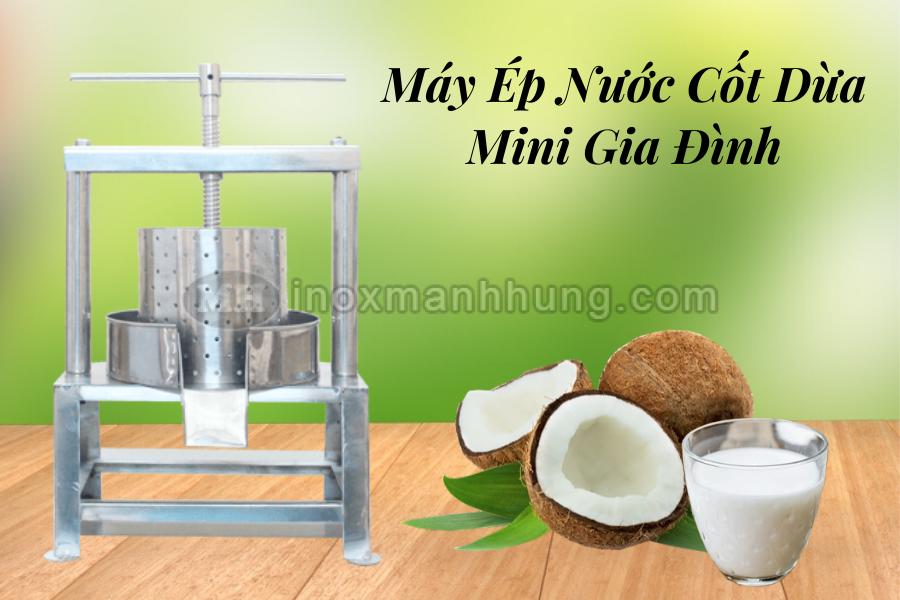 Máy ép nước cốt dừa mini gia đình 1