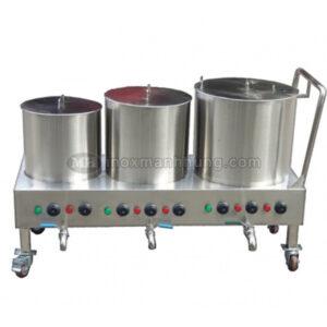 Bộ ba nồi nấu phở 30-60-100L