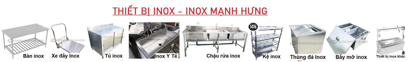Gia công inox giá rẻ theo yêu cầu tại Quận Tân Bình HCM