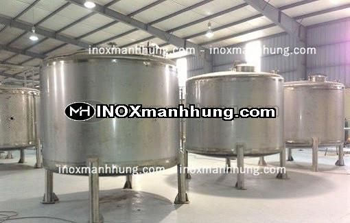 Gia công bồn chứa inox