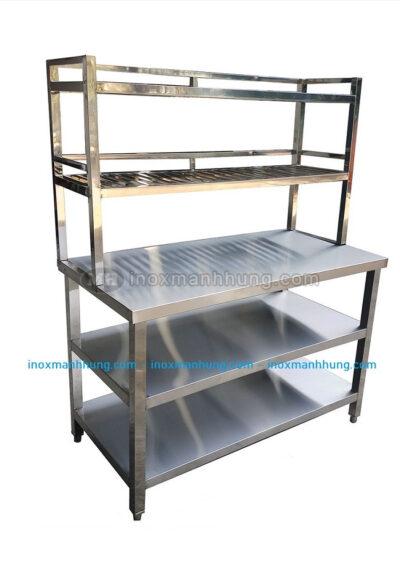 Gia công sản xuất bàn inox công nghiệp hcm