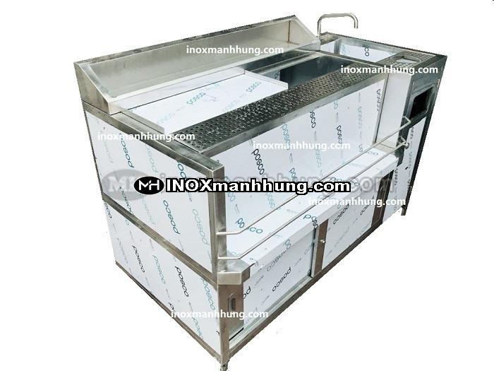 Ứng dụng của thùng chứa đá inox