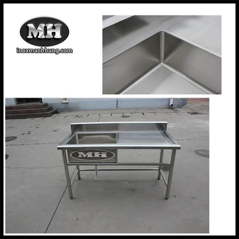 Gia công sản xuất chậu rửa inox cho nhà bếp