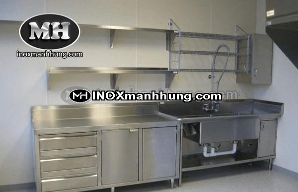 Tủ bếp inox chất lượng cao giá rẻ tại hcm